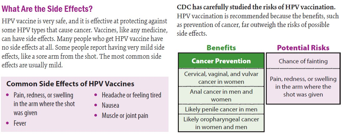 hpv vaccine side effects cancer gambar enterobius vermicularis
