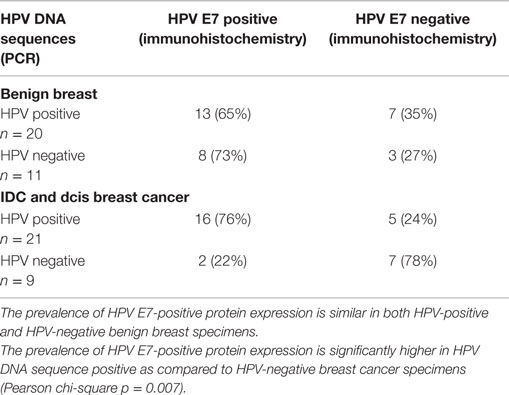 papilloma and breast cancer risk