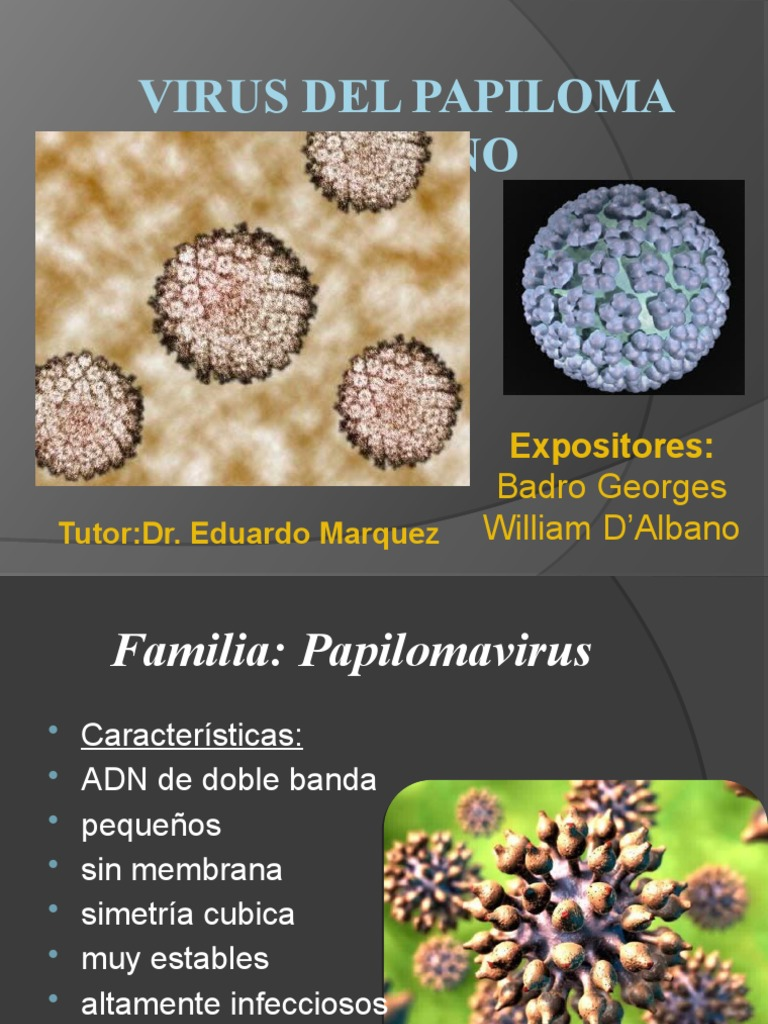 virus del papiloma humano williams