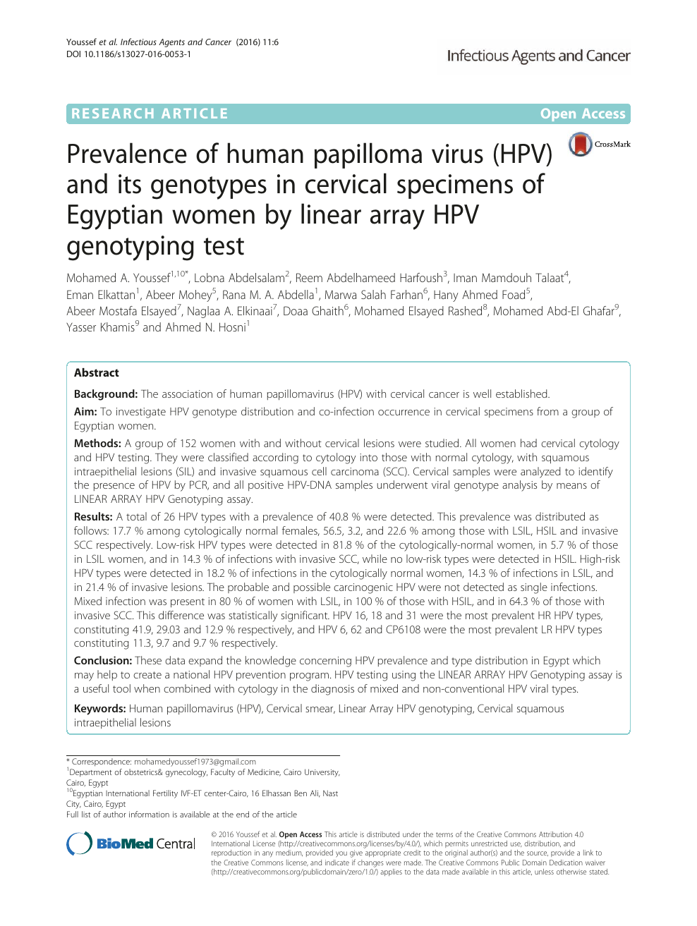 hpv virus test m?nd
