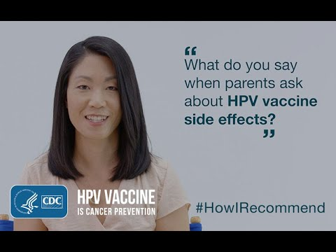 hpv vaccine side effects last