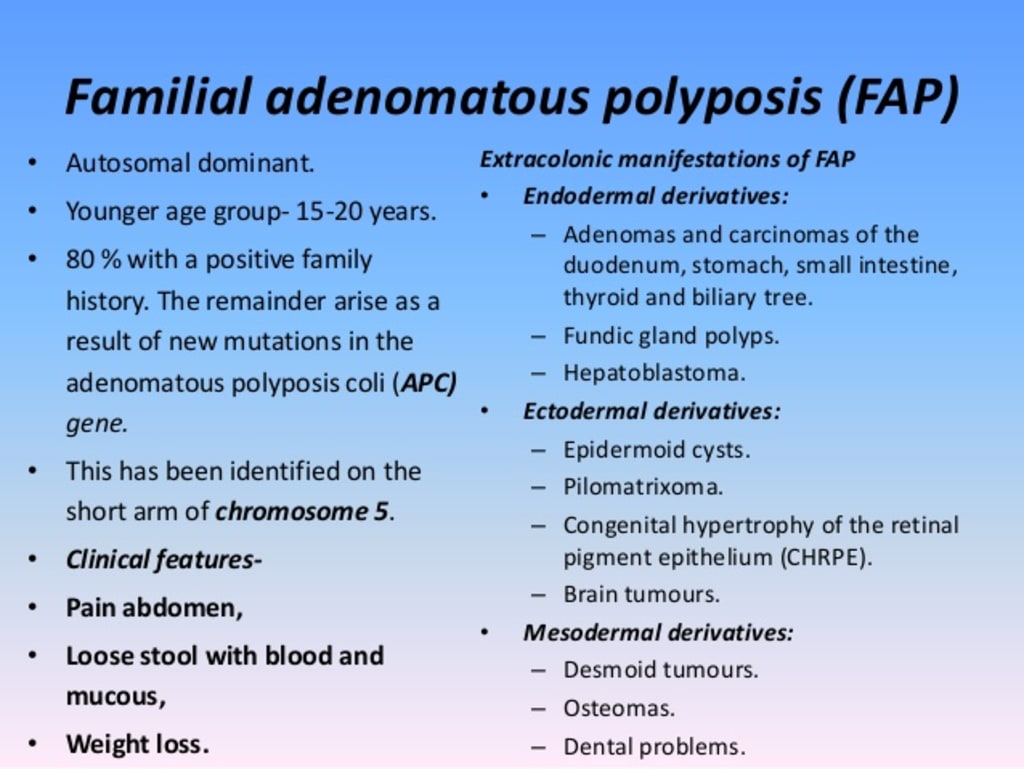 cancer in familial polyposis