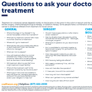 rectal cancer questions to ask