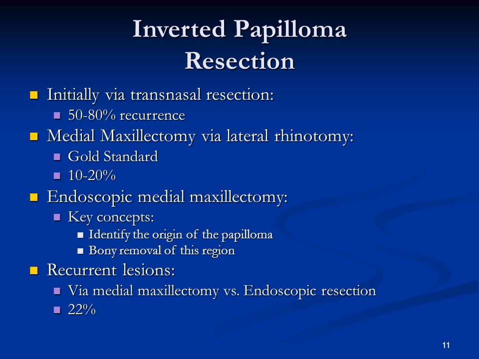 inverted papilloma of nose ppt