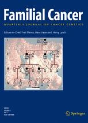 familial cancer submit