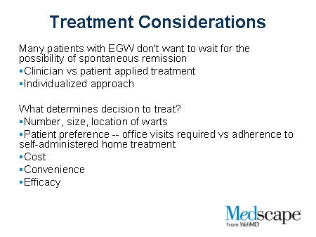 wart treatment medscape