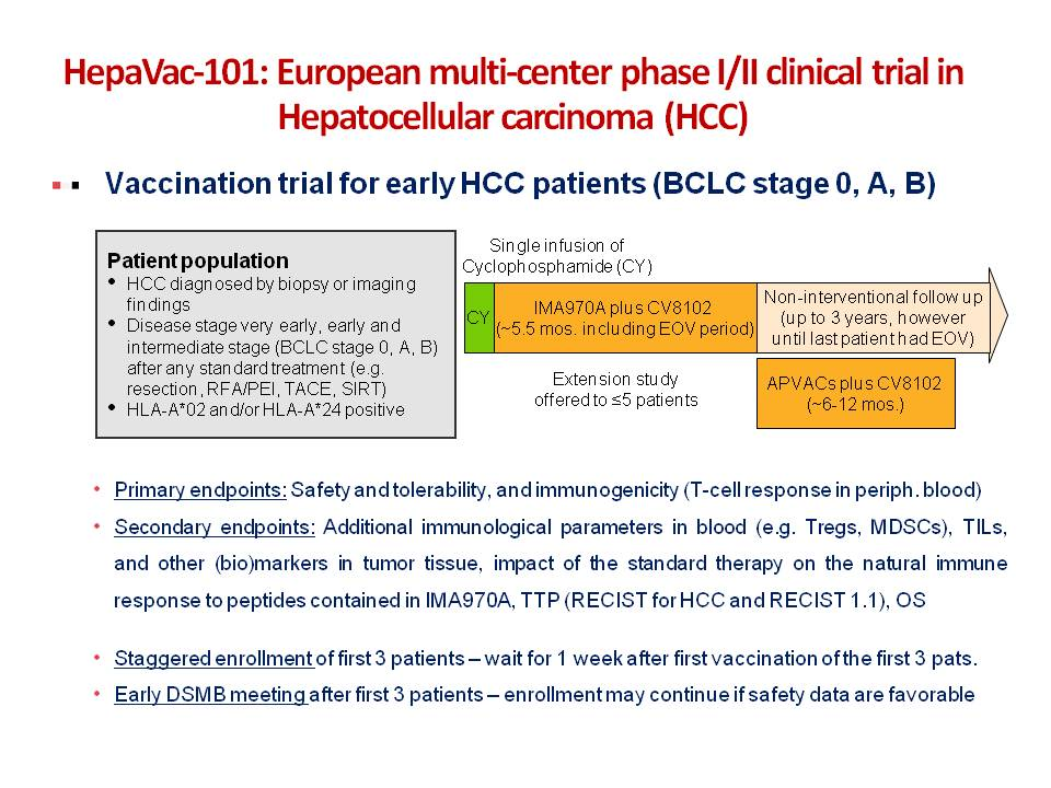 IMMUNOTHERAPY IN ADVANCED HEPATOCELLULAR CANCER