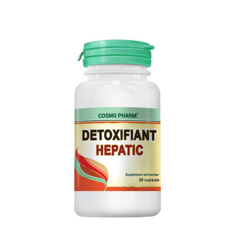 Protector hepatic supliment - Detoxifiant Hepatic Cosmopharm