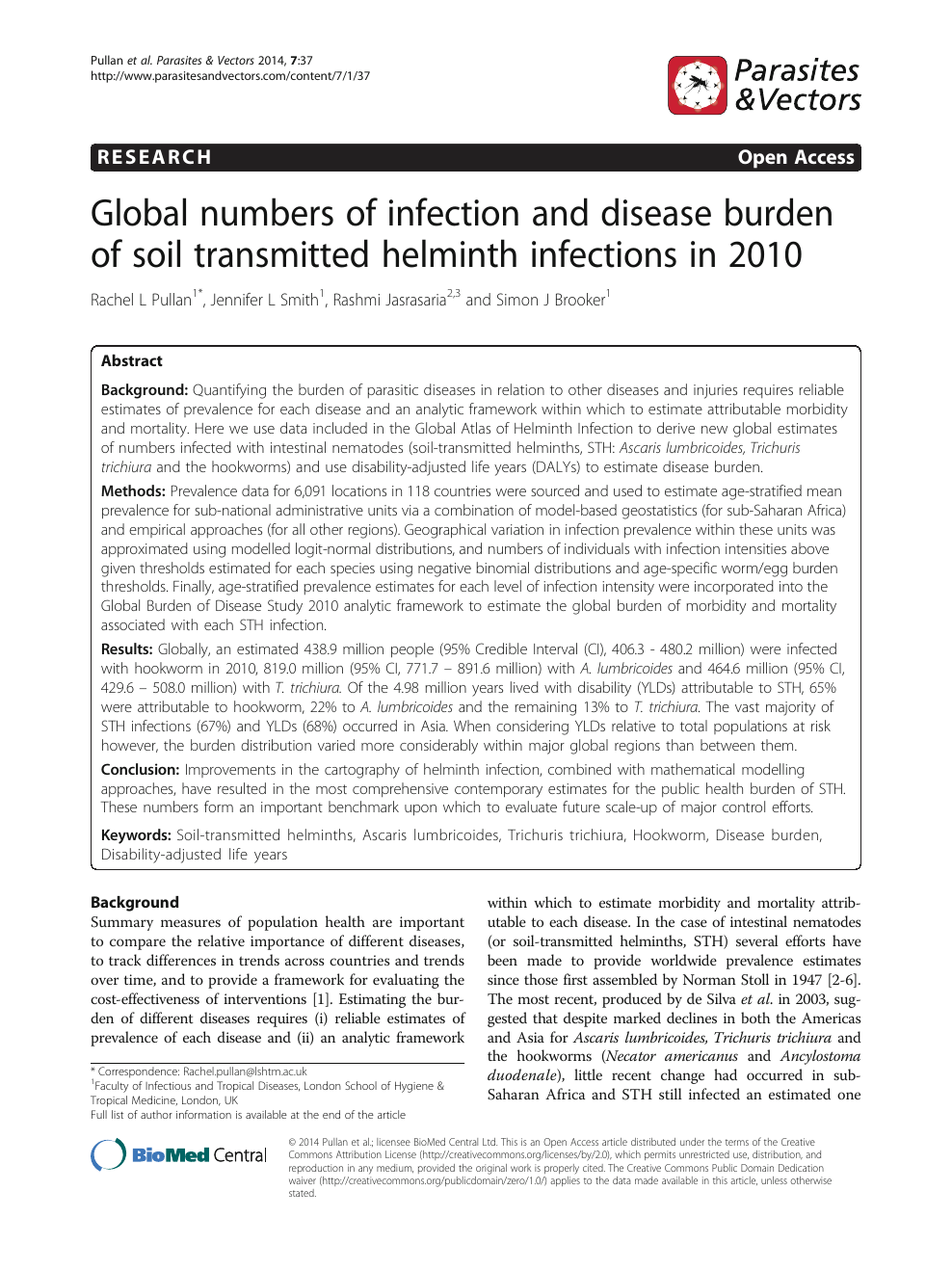 helminth infections and their impact on global public health is hpv cancer genetic
