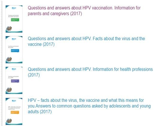 hpv vaccine questions