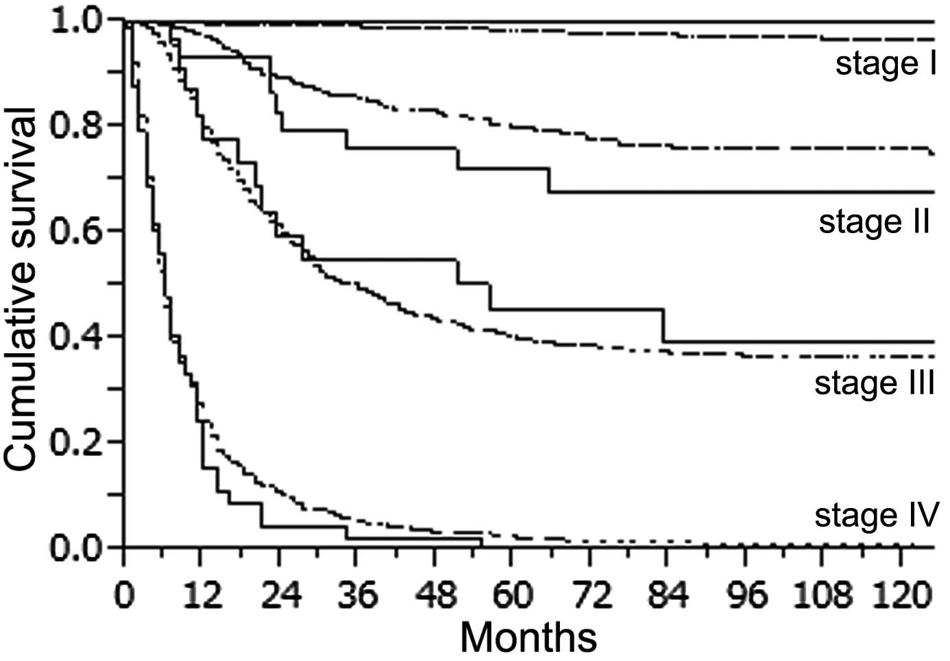 gastric cancer years